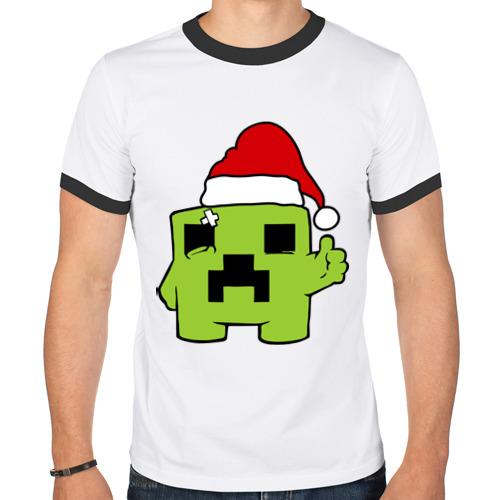 Мужская футболка рингер Minecraft от Всемайки