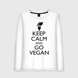 Keep calm and go vegan