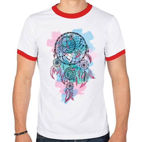 Мужская футболка рингер  Фото 01, Ловец снов