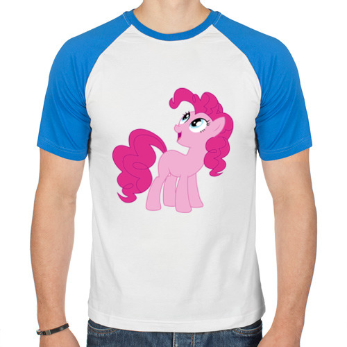 Мужская футболка реглан  Фото 01, Пони Пинки Пай