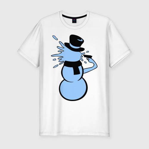 Снеговик застрелился