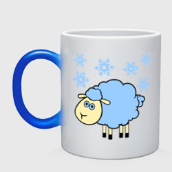 Овечка и снег