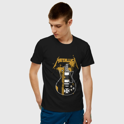 Мужская футболка хлопок Металлика Фото 01