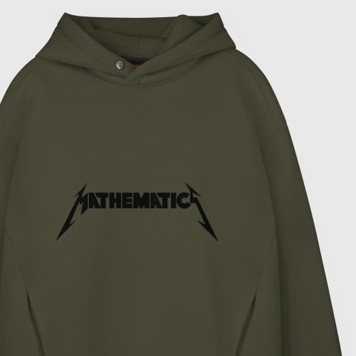 Мужское худи Oversize хлопок Mathematica (Математика) Фото 01