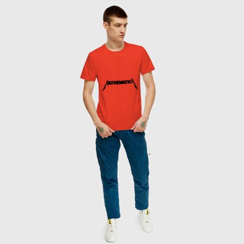 Мужская футболка хлопок Mathematica (Математика) Фото 01