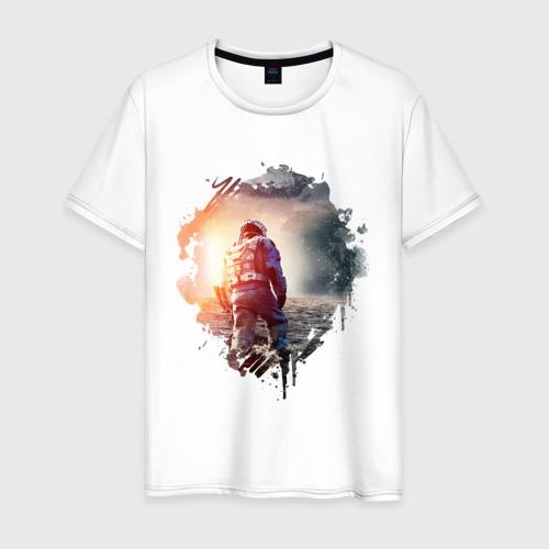 Мужская футболка хлопок Interstellar