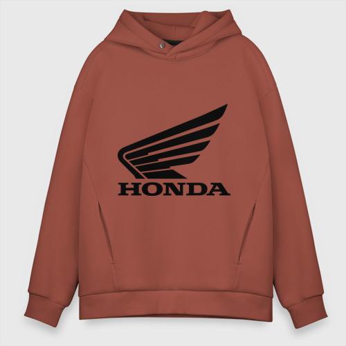 Мужское худи Oversize хлопок Honda Motor Фото 01