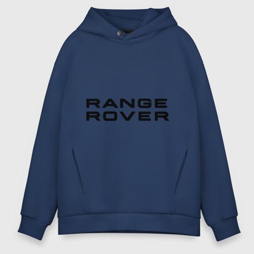 Мужское худи Oversize хлопок Range Rover Фото 01