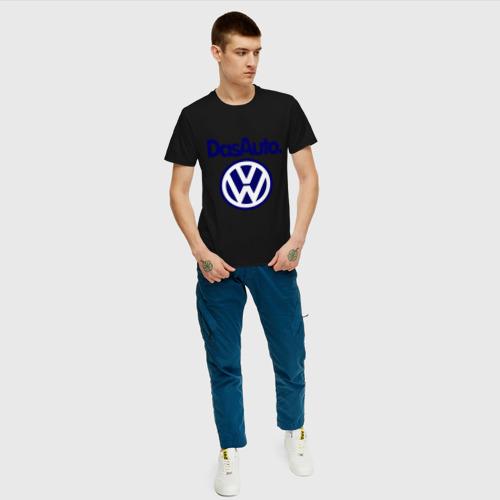 Мужская футболка хлопок Volkswagen Das Auto Фото 01