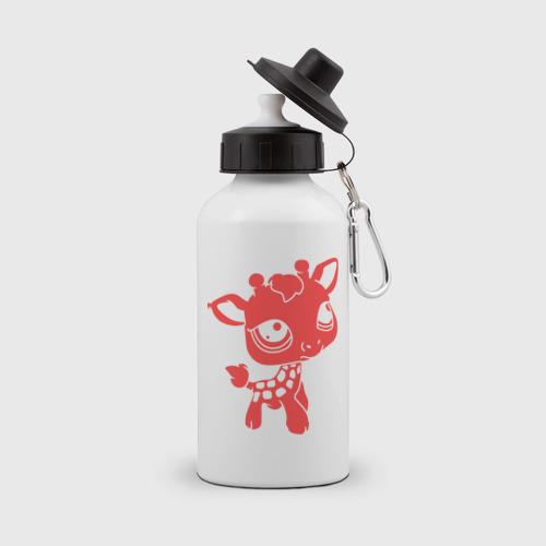 Бутылка спортивная Маленький жирафик