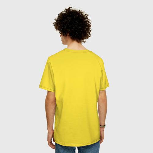 Мужская футболка хлопок Oversize Гайка Фото 01