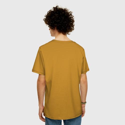 Мужская футболка хлопок Oversize Болт Фото 01