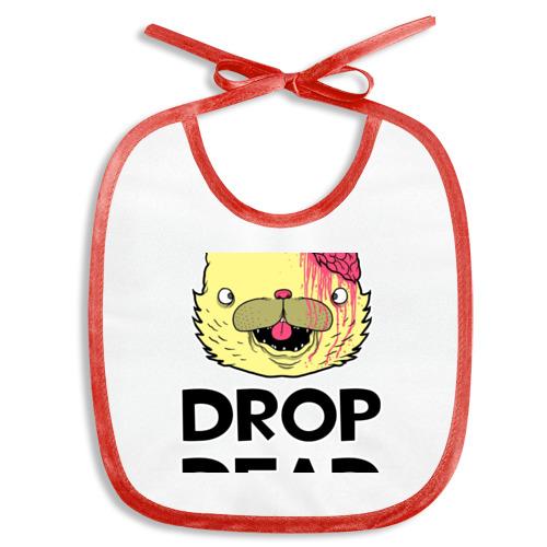 Слюнявчик  Фото 01, Drop Dead Cat