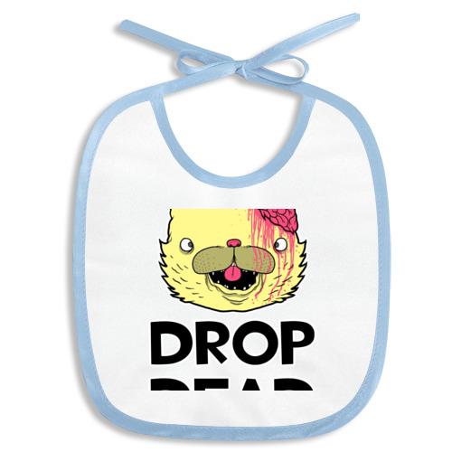Слюнявчик Drop Dead Cat