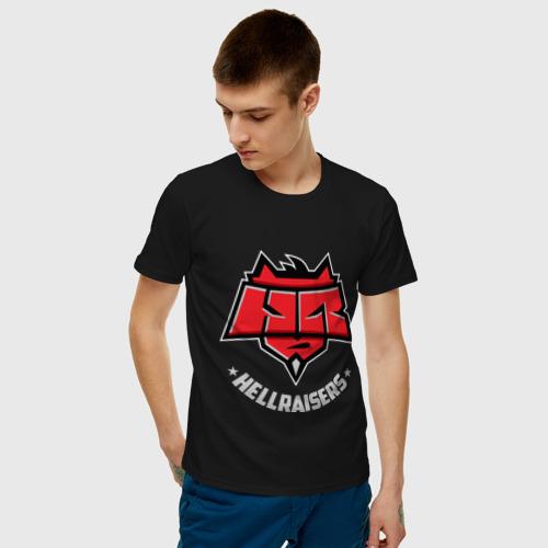 Мужская футболка хлопок Hellraisers dark Фото 01