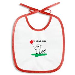 """Енот \""""I Love You\"""""""