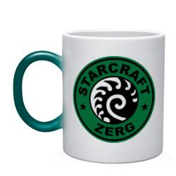 Starcraft Zerg Coffee - интернет магазин Futbolkaa.ru