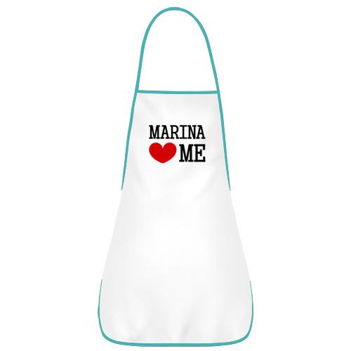 Марина любит меня