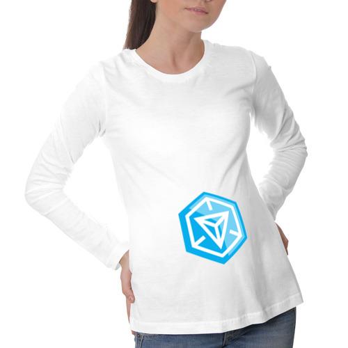 Лонгслив для беременных хлопок  Фото 01, Ingress Логотип