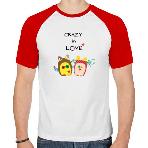 Мужская футболка реглан  Фото 01, Crazy in Love