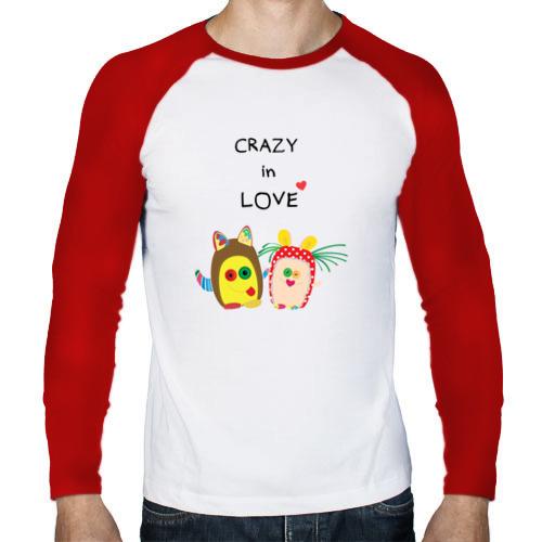 Мужской лонгслив реглан  Фото 01, Crazy in Love