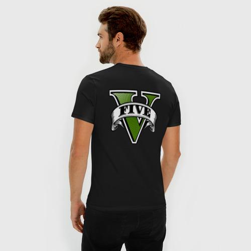 Мужская футболка премиум GTA V Фото 01