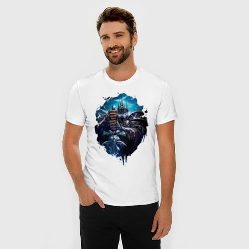 Мужская футболка премиум  Фото 03, Lich king