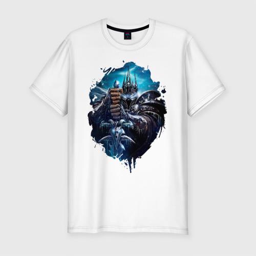Мужская футболка премиум  Фото 01, Lich king