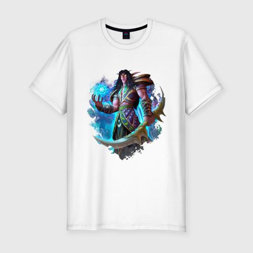 Мужская футболка премиум  Фото 01, Ночной эльф