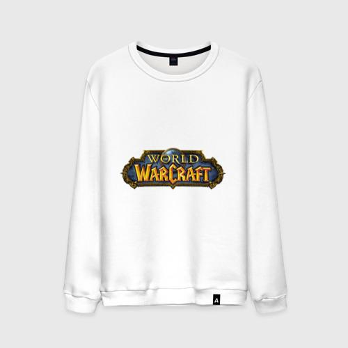 Мужской свитшот хлопок  Фото 01, World of Warcraft logo