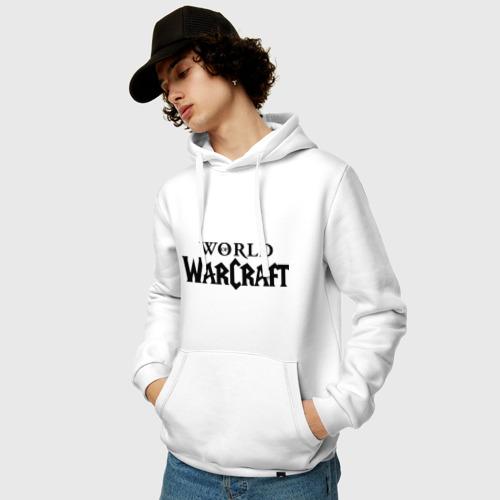 Мужская толстовка хлопок  Фото 03, World of Warcraft logo
