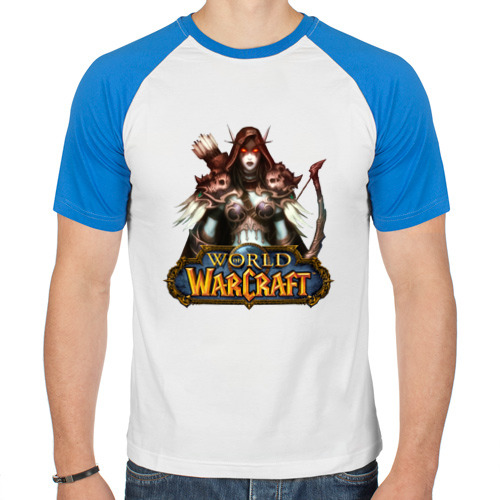 Мужская футболка реглан  Фото 01, World of Warcraft