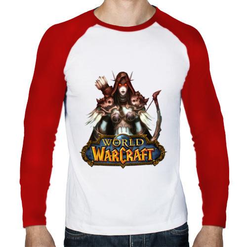 Мужской лонгслив реглан  Фото 01, World of Warcraft