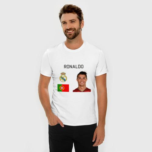 Мужская футболка премиум  Фото 03, Роналдо