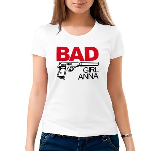 Женская футболка хлопок  Фото 03, Анна, плохая, девочка