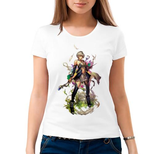 Женская футболка хлопок  Фото 03, Human race