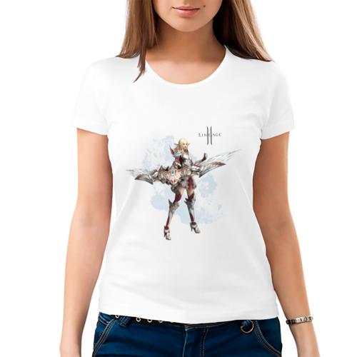 Женская футболка хлопок  Фото 03, Lineage
