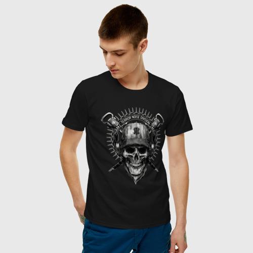 Мужская футболка хлопок Байкер всегда жив Фото 01