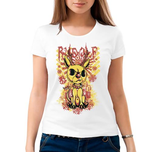 Женская футболка хлопок  Фото 03, Rudolf