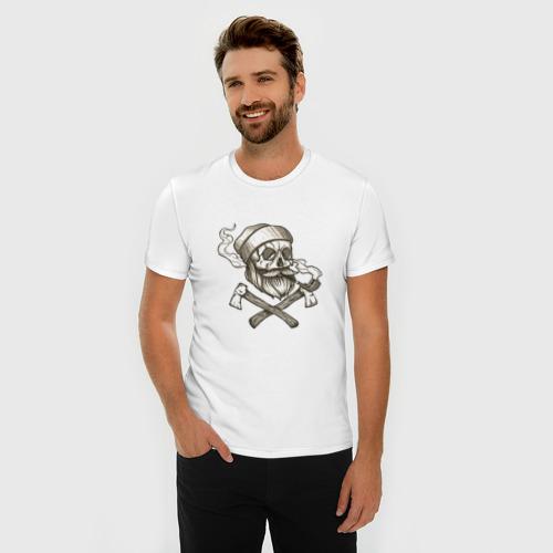 Мужская футболка премиум  Фото 03, Тортуга