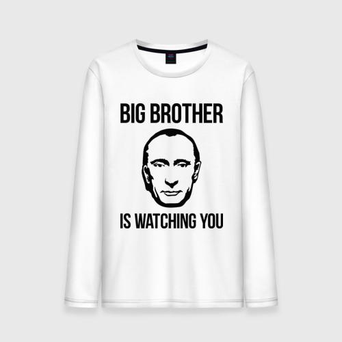 Мужской лонгслив хлопок  Фото 01, Big brother
