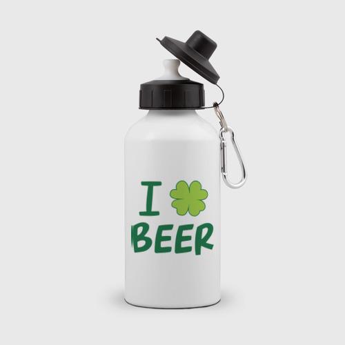Бутылка спортивная  Фото 01, Love beer