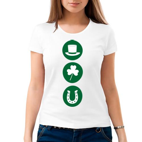 Женская футболка хлопок  Фото 03, День святого Патрика