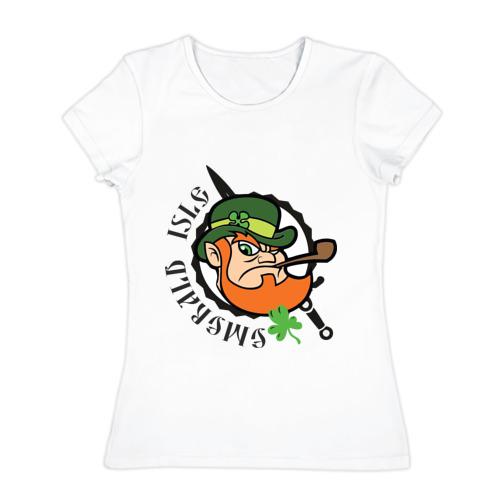 Женская футболка хлопок Ирландия