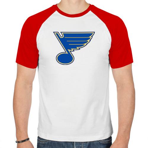 Мужская футболка реглан  Фото 01, St. Louis Blues