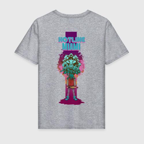 Мужская футболка хлопок Hotline Miami Фото 01