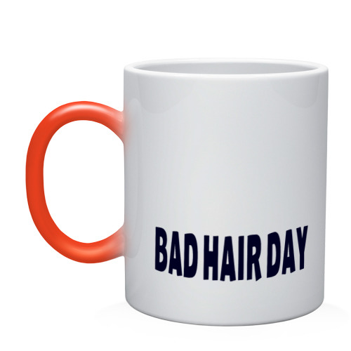 Кружка хамелеон Bad Hair Day