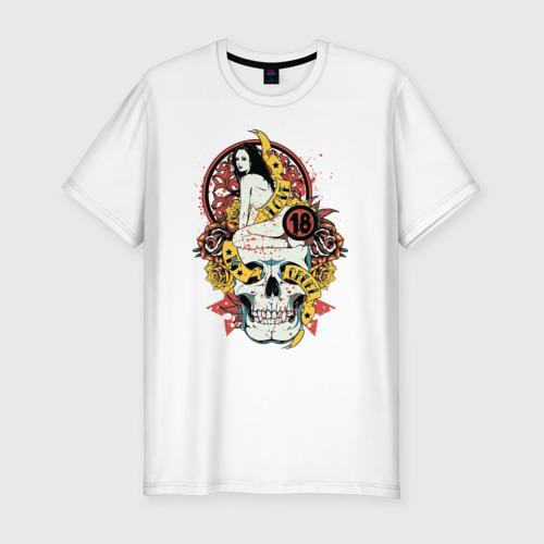 Мужская футболка премиум  Фото 01, 18+