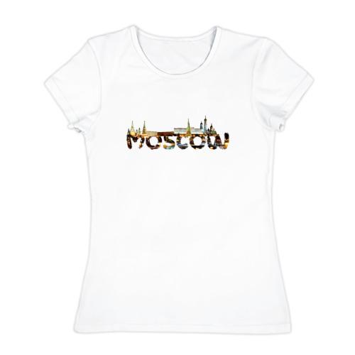 Женская футболка хлопок  Фото 01, Кремль