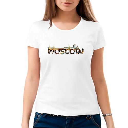 Женская футболка хлопок  Фото 03, Кремль